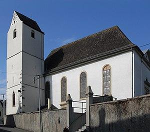 Uffheim - Image: Uffheim, Eglise Saint Michel