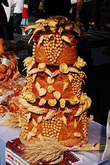 Traditional Polish Wedding Cake