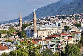 Osmangazi Place in Bursa, Turkey