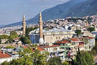 Osmangazi - Osmangazi with Grand Mosque of Bursa
