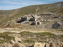 Abandoned wolfram mine near the summit of Uludag, Bursa, Turkey.
