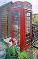 Ulva's payphone and greenhouse ^ - geograph.org.uk - 43031.jpg
