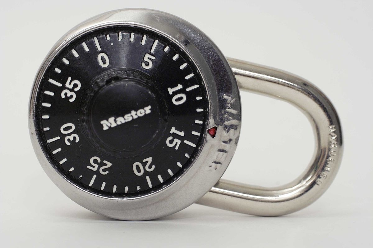 Rotary Combination Lock Wikipedia