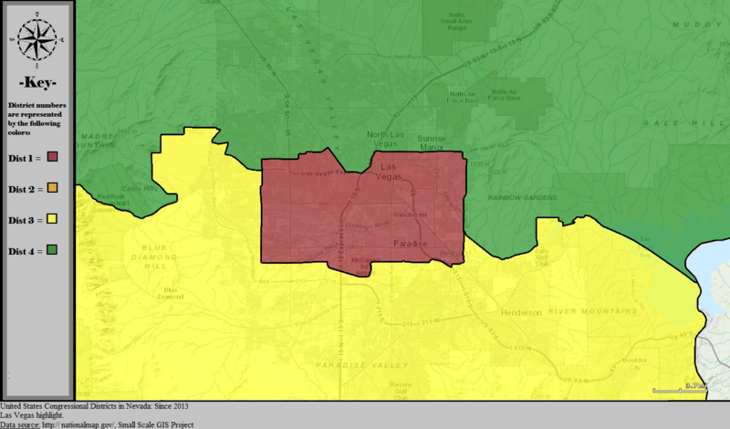 Nevada S Congressional Districts Wikiwand