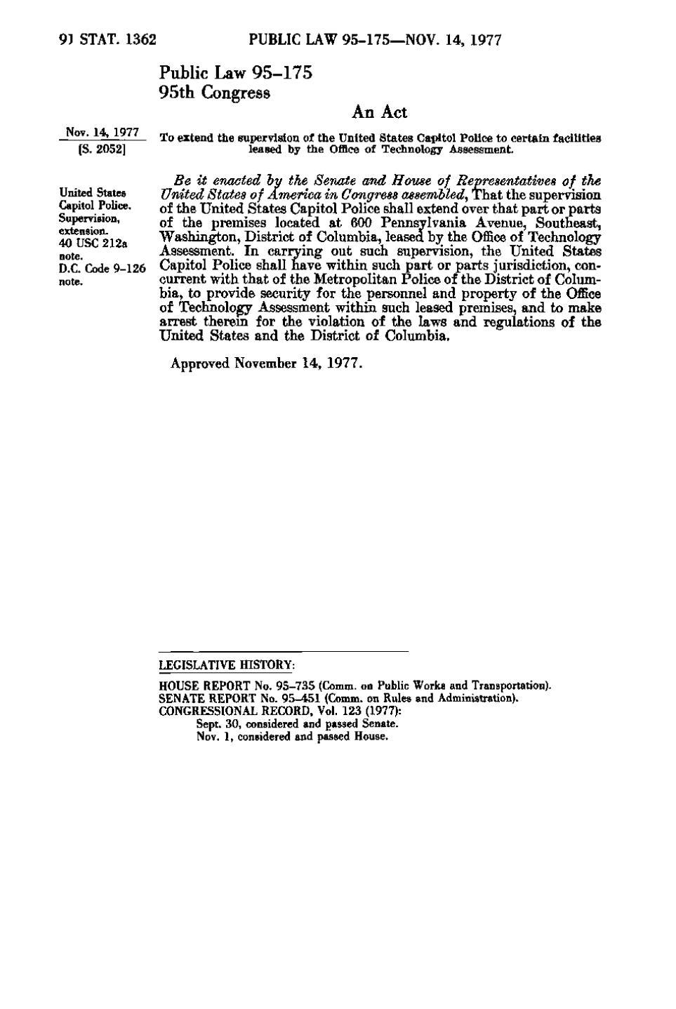 Page:United States Statutes at Large Volume 91 djvu/1396