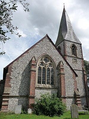 Chute, Wiltshire - Image: Upper Chute St Nicholas Church geograph.org.uk 1450651