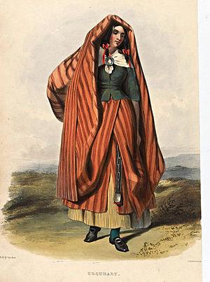 Earasaid - Image: Urquhart (R. R. Mc Ian)