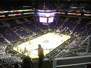 Talking Stick Resort Arena - Then-US Airways Center before a Phoenix Suns game in 2009