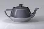Utah teapot representing computer graphics