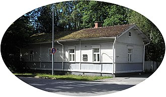 Yrjö Väisälä - Image: Väisälä brothers childhood home (elliptic cut)