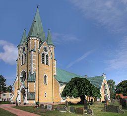 Västra Vrams kirke i Västra Vram fin syd for Tollarp