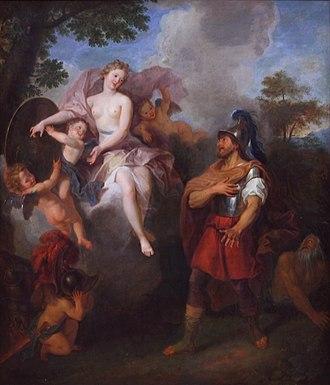 Antoine Coypel - Image: Vénus apportant les armes à Enée