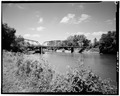 VIEW LOOKING WEST - Boyleston Bridge, Spanning Skunk River, Lowell, Henry County, IA HAER IOWA,44-JACTOS,1-1.tif