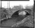 VIEW OF NORTH ELEVATION - Patch Street Bridge, Spanning Kohanza Brook on Patch Street, Danbury, Fairfield County, CT HAER CONN,1-DA,2-2.tif