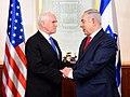 VP Pence meet with PM Netanyahu (24971623247).jpg