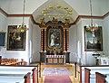 Valdemarsviks kyrka, altartavla av David Wallin (1918), 1 september 2012, bild 1.jpg