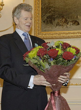 Van Cliburn - Receiving the Order of Friendship in Moscow, Russia, in 2004