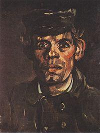 Van Gogh - Kopf eines jungen Bauern mit Mütze.jpeg