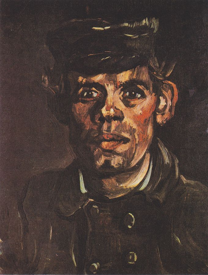 Head of a Young Peasant in a Peaked Cap