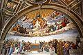 Vatikan, Museen, Stanzen des Raffael, der Saal der Signatur, Bild 2.JPG