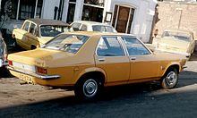 Vauxhall Victor FE ca 1973 rear three quarters London area.jpg