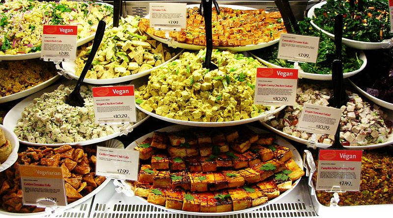 File:Vegan Gardein Tofu Foods Display (cropped1).jpg