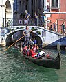 "Venice city scenes - gondoliers rule the ""streets"" - watch for low bridges! (11002341184).jpg"