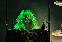 "Venom, Danny ""Danté"" Needham at Party.San Metal Open Air 2013 02.jpg"