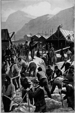 Verne - Les Naufragés du Jonathan, Hetzel, 1909, Ill. page 274