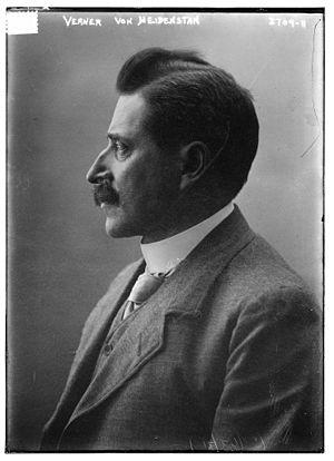 Verner von Heidenstam - Verner von Heidenstam in 1915