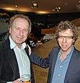 Vic van de Reijt (left) and Arnon Grunberg - 1507828057.jpg