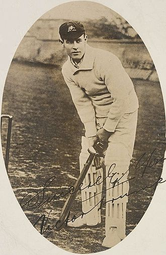 Charlie Macartney - Victor Trumper, Macartney's friend and role model.