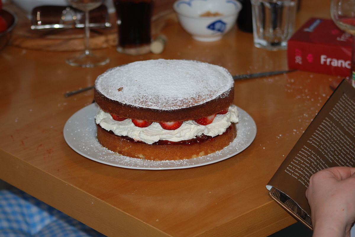 Sponge Cake Made Of Samoneli Flour
