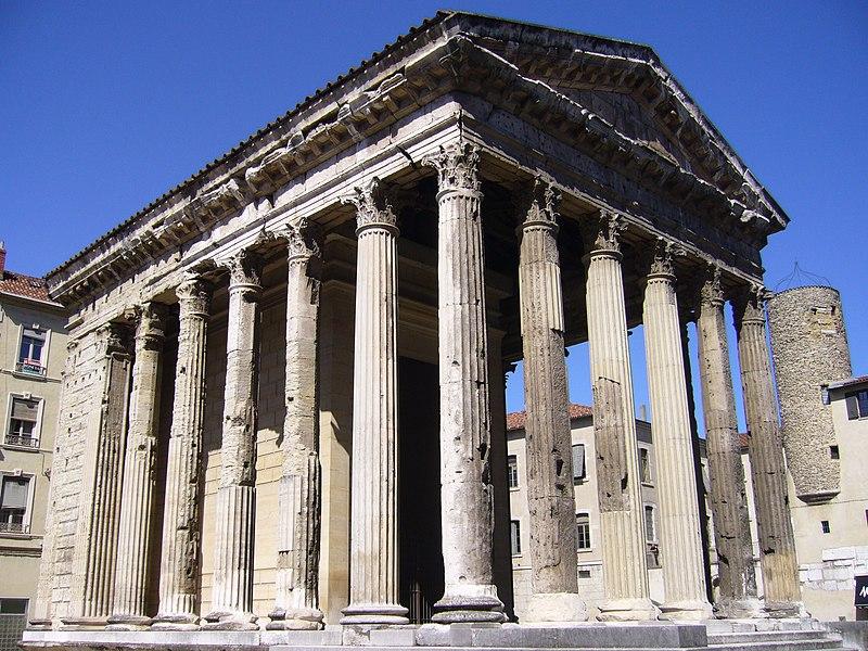 Römischer Tempel zu Vienne