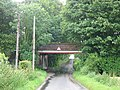 View along Sutton Lane under the railway bridge - geograph.org.uk - 485554.jpg