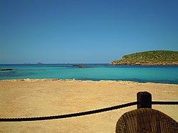 View from Beach Bar Cala Conta 17 May 2011 (1).JPG