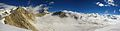 View from Kalindi Peak of Himalayas located at Uttarkashi district of Uttarakhand, India.jpg