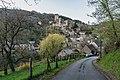 View of town of Belcastel 01.jpg