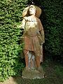 Villa reale di marlia, teatro di verzura, statua in terracotta 03.JPG