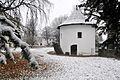 Villach Sankt Martin Schlossgasse 11 Suedostturm am Schloss Moertenegg 04122009 26.jpg