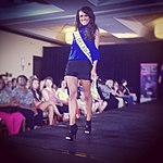 Vincenza walking the Runway at Miss Unites States in DC.JPG