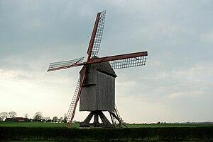 Zwalm - Image: Vinkemolen Sint Denijs Boekel 10 04 2009 17 17 48
