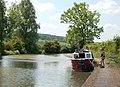 Vintage canal boat moored near Flecknoe - geograph.org.uk - 1331211.jpg