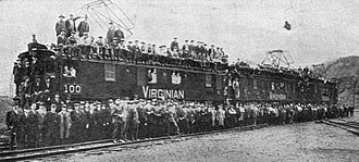 Virginian Railway - One of the original electric units