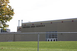 Viroqua, Wisconsin - Image: Viroqua Wisconsin Schools WIS56