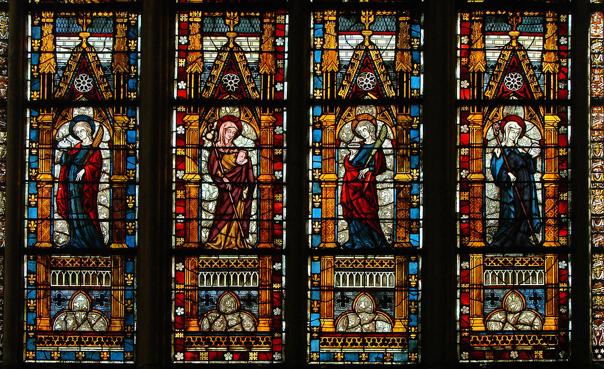 medieval stained glass - wikipedia
