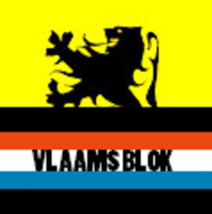 Vlaams Blok - Flag associated with the Vlaams Blok.