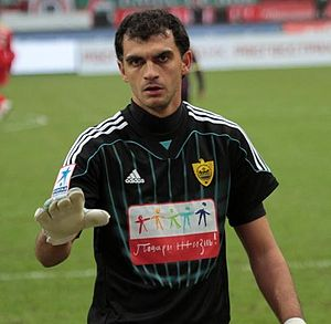 Vladimir Gabulov - Gabulov with FC Anzhi in 2012