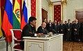Vladimir Putin and Evo Morales (2019-07-11) 10.jpg