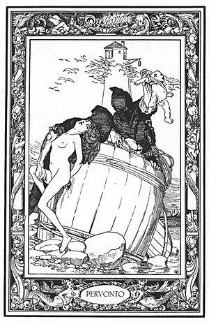 Peruonto - Peruonto, illustration by Franz von Bayros